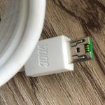 OPPO(オッポ)R11sの充電ケーブル