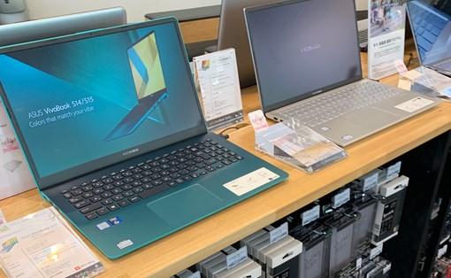 ASUS VivoBookが陳列